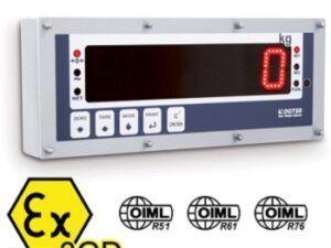 """""""DGT603GD"""" serijos svorio indikatorius – kartotuvas ATEX 2 ir 22 zonoms"""